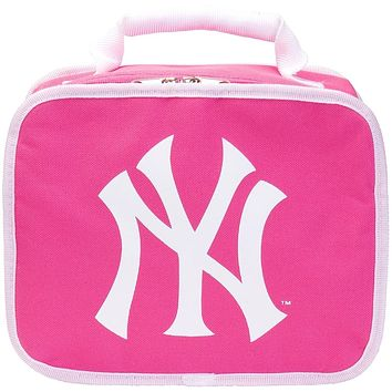 New York Yankees - Logo Soft Pink Lunch Box