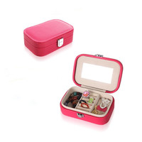 Small Jewelry Makeup Storage Box,boite de rangement,Make up Box for Cheap Sale,Portable Jewelry Organizer Travel,Free Shipping