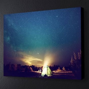 Camping Under the Stars Canvas Set