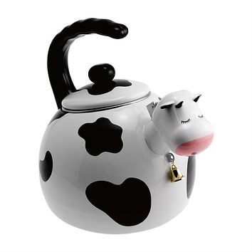 Cow Whistling Tea Kettle
