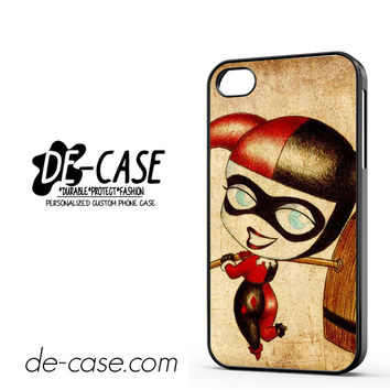 Harley Quinn And Joker Art Couple Case Device 2 DEAL-5070 Apple Phonecase Cover For Iphone 4 / Iphone 4S