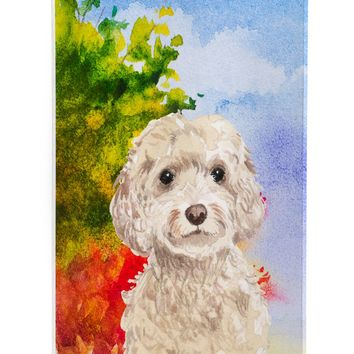 Fall Goldendoodle Michelob Ultra Hugger for slim cans CK1949MUK