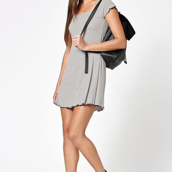 Kendall and Kylie Stripe Short Sleeve Dress at PacSun.com