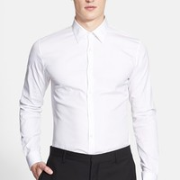 Men's Burberry London 'Seaford' Trim Fit Dress Shirt,