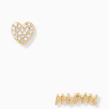 mom knows best pave mom studs | Kate Spade New York
