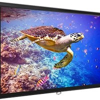 Elite Screens Manual, 80-inch 16:9, Pull Down Projection Manual Projector Screen with Auto Lock, M80UWH