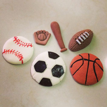 All Sports Birthday Party, All Sports Themed Baby Shower, Baseball Favors All Star Party Decoration All Sports Birthday, Sports Cake Topper