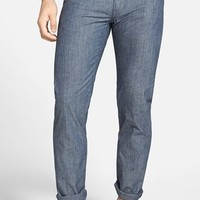 Men's Vince 'VM 212' Slim Leg Chambray Pants