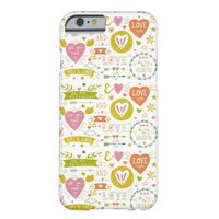 Quirky Romantic themed iPhone Case