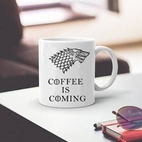 game of thronse stark coffee mugs cup coffee