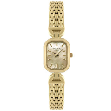 Rotary - Ladies' Yellow Gold Plated Watch LB02832/40