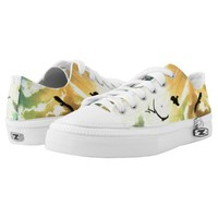 Freedom Of Birds Printed Shoes