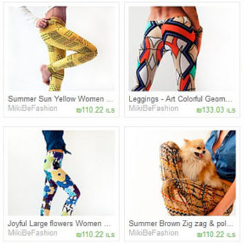 Fantastic Deal, Any five leggings out of my shop selection in just 125 dollars.