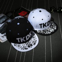 Summer Hats Korean Couple Ladies Fashion Hip-hop Baseball Cap [9730956355]
