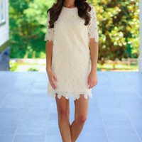 Your Sweet Smile Tunic-Ivory