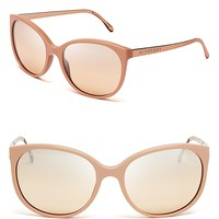 Burberry Rounded Wayfarer Sunglasses | Bloomingdale's