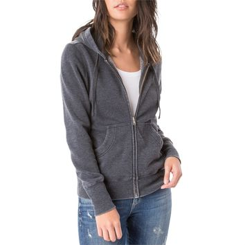 Z Supply The Fleece Zip Hoodie - Women's