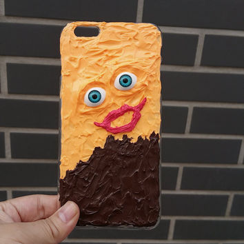 Funny face iPhone 6 Case iPhone 5 Case iPhone 5c Case iPhone 5s Case iPhone 6 Plus Case kawaii iphone case cream Goth phone case