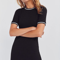 BDG Striped Crew-Neck T-Shirt Dress | Urban Outfitters