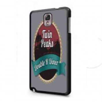 welcome to twin peaks 5 for samsung galaxy note 3 case