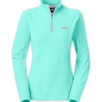 The North Face Women's Shirts & Tops Fleece WOMEN'S GLACIER 1/4 ZIP