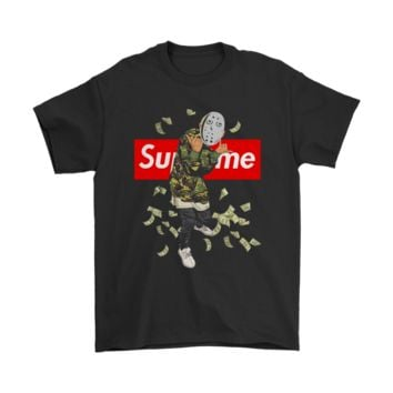 SPBEST Hip Hop Jason Voorhees Supreme Shirts