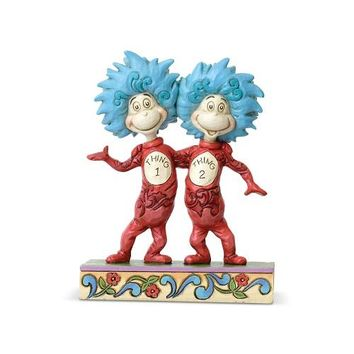Thing 1 and Thing 2 Dr. Seuss by Jim Shore