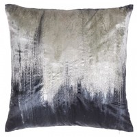 Metallic Embroidery Decorative Pillow
