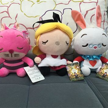 1pcs Alice In Wonderland Stuffed & Plush Doll Toy Dolls & Stuffed Toys for Children Gifts