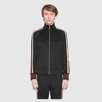 GUCCI Winter fashion suit black/gray/white