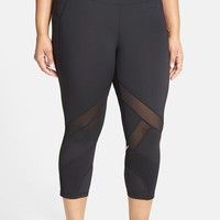 Plus Size Women's Zella 'Bees Knees' Running Capris,