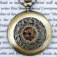 Into the Wild Wind-Up Pocket Watch | Wicked Clothes