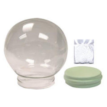 Water Globe For Do-It Yourselfers Measures 4-3/4 Inch Diameter And Includes Gasket and Floating Bits - Sears