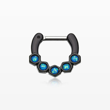 Colorline Opal Hexa Gemina Septum Clicker