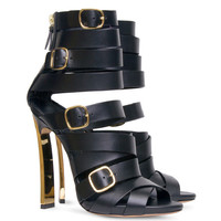 Lora Belted Gladiator Sandals