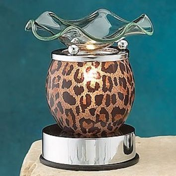 StealStreet SS-A-59679 5-Inch Electric Oil Burner, Animal Print