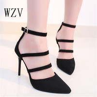 Pumps High Heels Pointed Toe