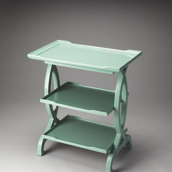 Butler Loft Kimiko Mint Creme Side Table