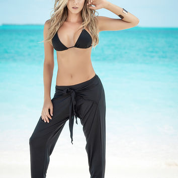 Front Draped Beach Pants