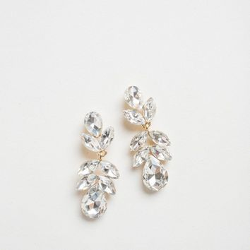 Penelope Crystal Dangle Earrings