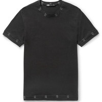 Y-3 - Tack Stitch-Detailed Cotton-Jersey T-Shirt