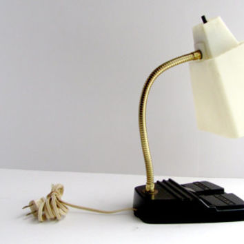 Vintage 1950 Atomic Desk Lamp
