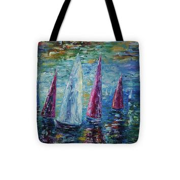 Sails To-night - Tote Bag