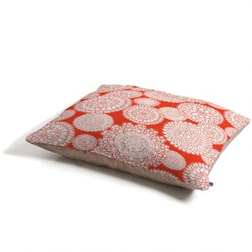 Heather Dutton Delightful Doilies Saffron Pet Bed