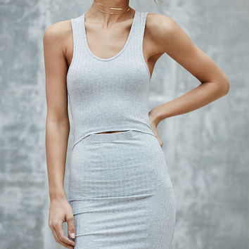 Nightwalker Ribbed Peekaboo Dress at PacSun.com