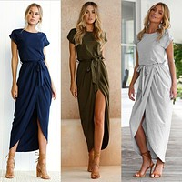Casual High Rise Summer Dress