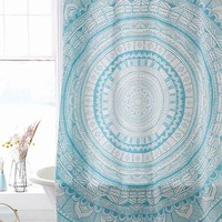 Magical Thinking Meda Medallion Shower Curtain