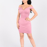 Ruby Girl Dress - Rose