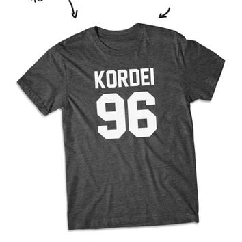 Kordei 96 Normani Kordei shirt Fifth Harmony short Sleeve tshirt
