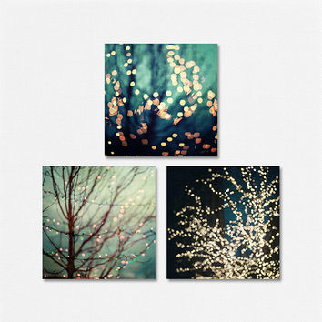 aqua decor set of 3 prints for ikea ribba frames teal abstract art for ribba